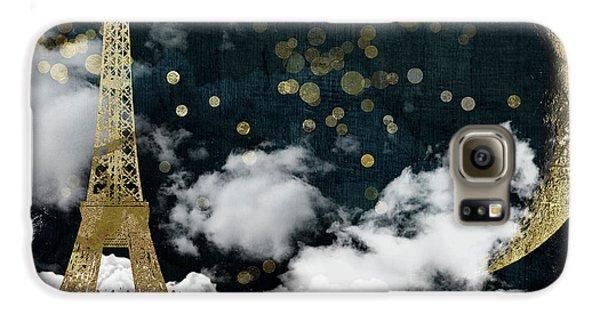Cloud Cities Paris Galaxy S6 Case