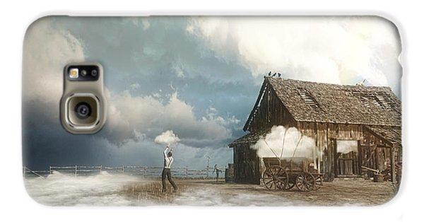 Finch Galaxy S6 Case - Cloud Farm by Cynthia Decker