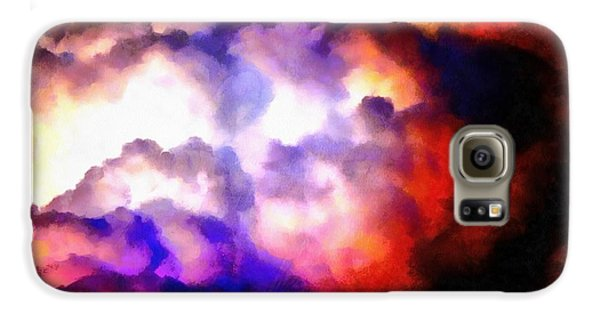 Cloud Sculpting 1 Galaxy S6 Case