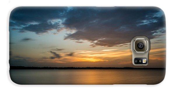 Cloudy Lake Sunset Galaxy S6 Case