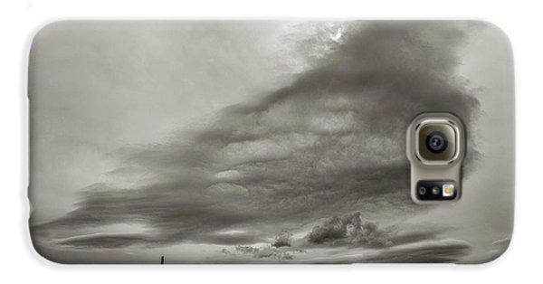 Galaxy S6 Case featuring the photograph Cloudy Sky, Karakorum, 2016 by Hitendra SINKAR