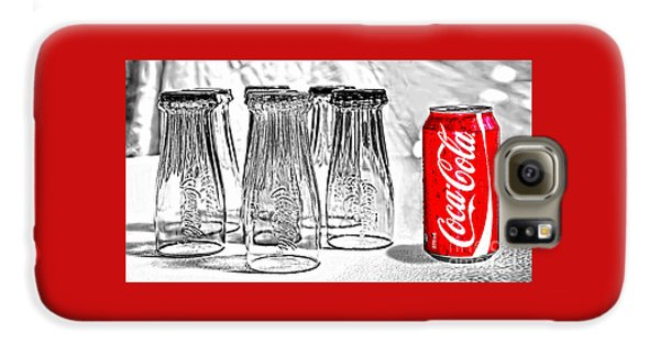 Coca-cola Ready To Drink By Kaye Menner Galaxy S6 Case