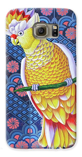 Cockatoo Galaxy S6 Case by Jane Tattersfield