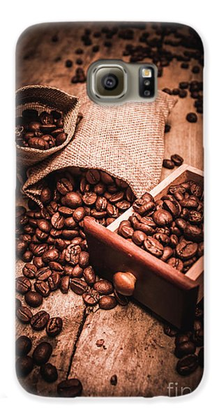 Coffee Bean Art Galaxy S6 Case by Jorgo Photography - Wall Art Gallery