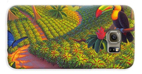 Coffee Plantation Galaxy S6 Case