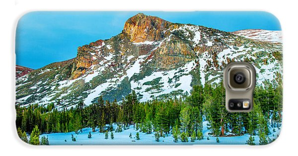 Yosemite National Park Galaxy S6 Case - Cold Mountain by Az Jackson