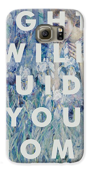 Coldplay Lyrics Print Galaxy S6 Case