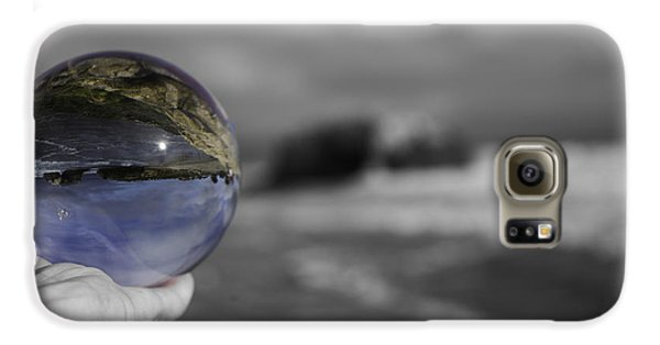 Color Ball Galaxy S6 Case by Lora Lee Chapman