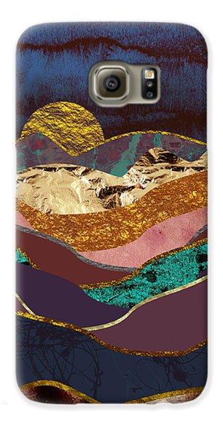Landscapes Galaxy S6 Case - Color Fields by Katherine Smit