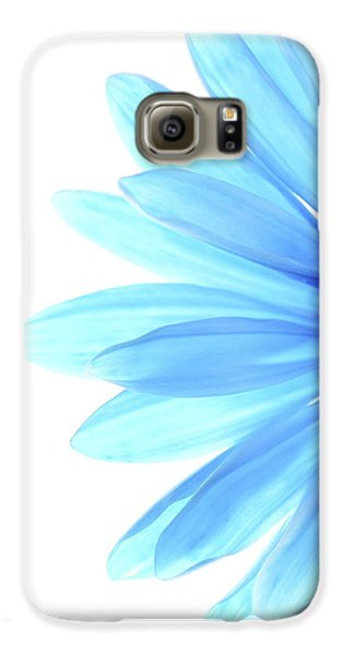 Color Me Blue Galaxy S6 Case by Rebecca Cozart