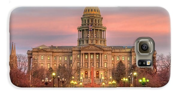 Galaxy S6 Case featuring the photograph Colorado Capital by Gary Lengyel