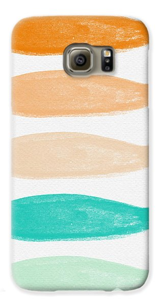 Goldfish Galaxy S6 Case - Colorful Fish by Linda Woods