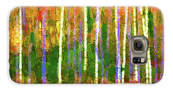 Colorful Forest Abstract Galaxy S6 Case