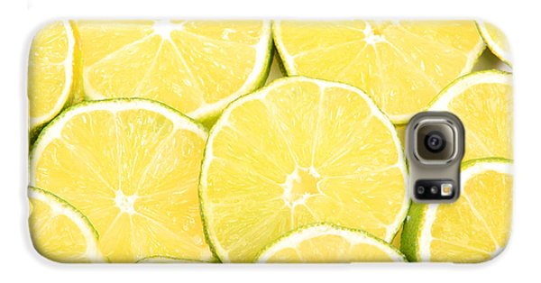 Colorful Limes Galaxy S6 Case by James BO  Insogna