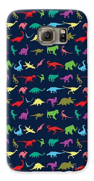 Colorful Mini Dinosaur Galaxy S6 Case