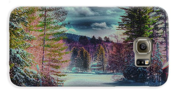 Galaxy S6 Case featuring the photograph Colorful Winter Wonderland by David Patterson