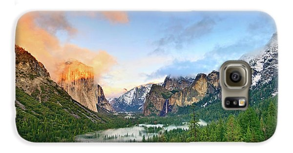 Colors Of Yosemite Galaxy S6 Case
