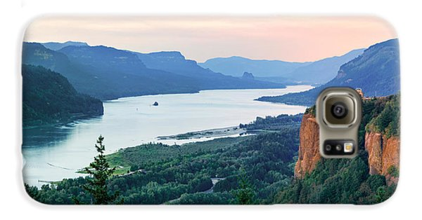Columbia River With Vista House Galaxy S6 Case