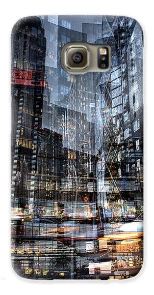 Columbus Circle Collage 1 Galaxy S6 Case