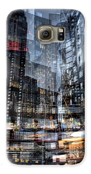 Columbus Circle Collage 1 Galaxy S6 Case by Dave Beckerman