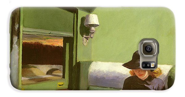 Compartment C Galaxy S6 Case by Edward Hopper