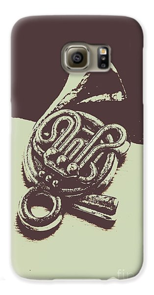 Trumpet Galaxy S6 Case - Concert Of A French Horn by Jorgo Photography - Wall Art Gallery