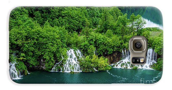 Connected By Waterfalls - Plitvice Lakes National Park, Croatia Galaxy S6 Case