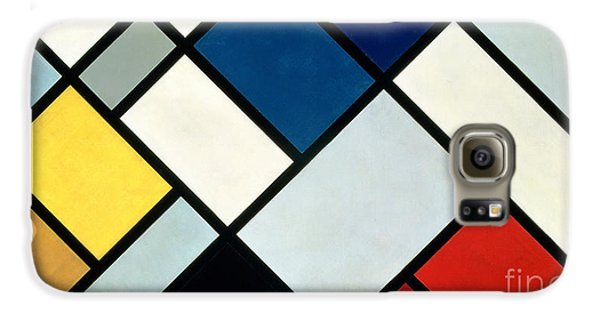 Abstract Galaxy S6 Case - Contracomposition Of Dissonances by Theo van Doesburg
