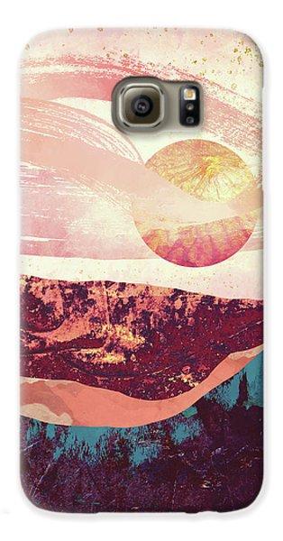 Landscapes Galaxy S6 Case - Coral Sky by Katherine Smit