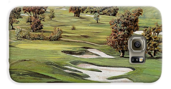 Sports Galaxy S6 Case - Cordevalle Golf Course by Guido Borelli