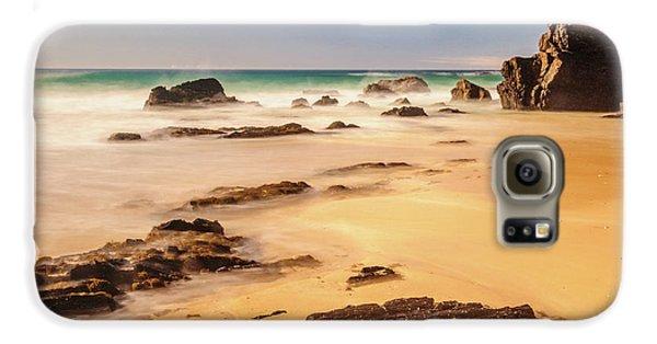 Corunna Point Beach Galaxy S6 Case