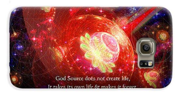 Cosmic Inspiration God Source 2 Galaxy S6 Case