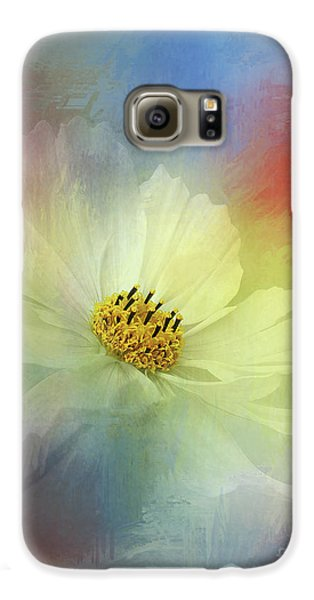 Cosmos Dreaming Abstract By Kaye Menner Galaxy S6 Case