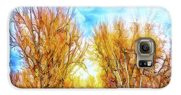 Country Road Wandering Galaxy S6 Case