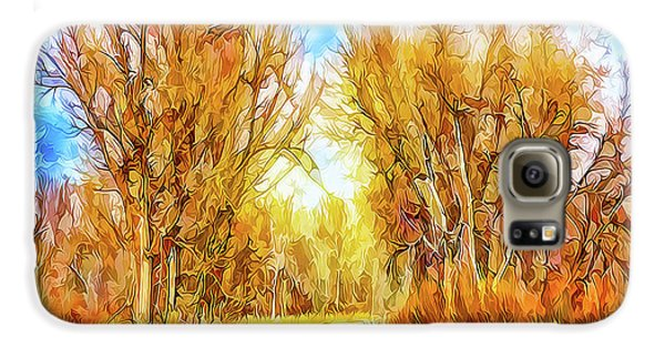 Country Road Wandering Galaxy S6 Case by Joel Bruce Wallach