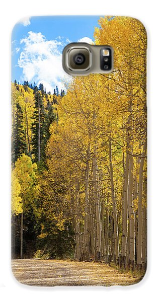 Country Roads Galaxy S6 Case by David Chandler
