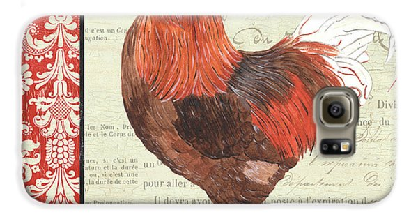 Country Rooster 2 Galaxy S6 Case by Debbie DeWitt