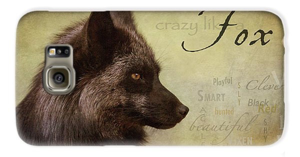 Crazy Like A Fox Galaxy S6 Case