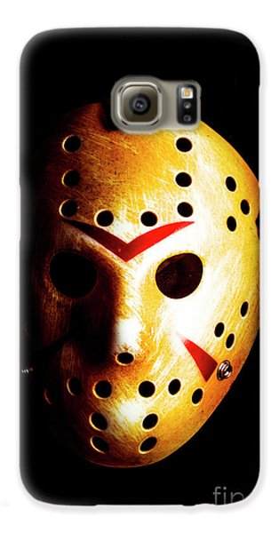 Hockey Galaxy S6 Case - Creepy Keeper by Jorgo Photography - Wall Art Gallery
