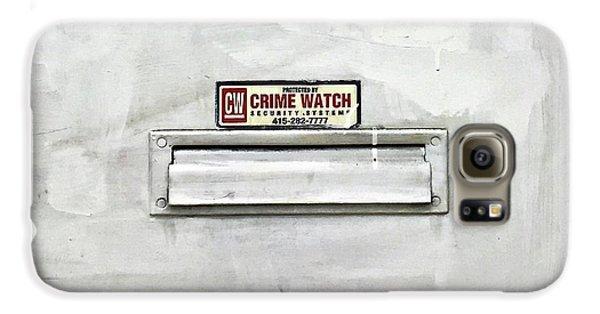 Galaxy S6 Case - Crime Watch Mailslot by Julie Gebhardt