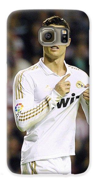 Cristiano Ronaldo 4 Galaxy S6 Case by Rafa Rivas