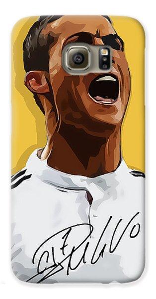 Cristiano Ronaldo Cr7 Galaxy S6 Case by Semih Yurdabak