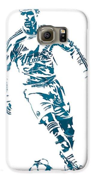 Cristiano Ronaldo Real Madrid Pixel Art 1 Galaxy S6 Case