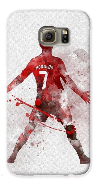 Cristiano Ronaldo United Galaxy S6 Case