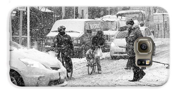 Crosswalk In Snow Galaxy S6 Case