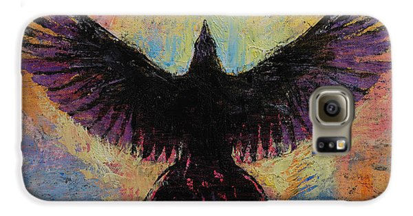 Crow Galaxy S6 Case by Michael Creese