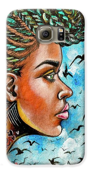 Galaxy S6 Case - Crowned Royal by Artist RiA