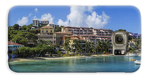 Galaxy S6 Case featuring the photograph Cruz Bay, St. John by Adam Romanowicz