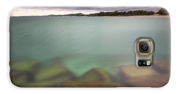 Galaxy S6 Case featuring the photograph Crystal Clear Lake Michigan Waters by Adam Romanowicz