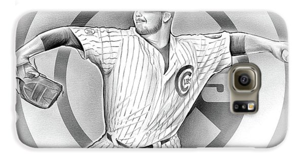 Wrigley Field Galaxy S6 Case - Cubs 2016 by Greg Joens